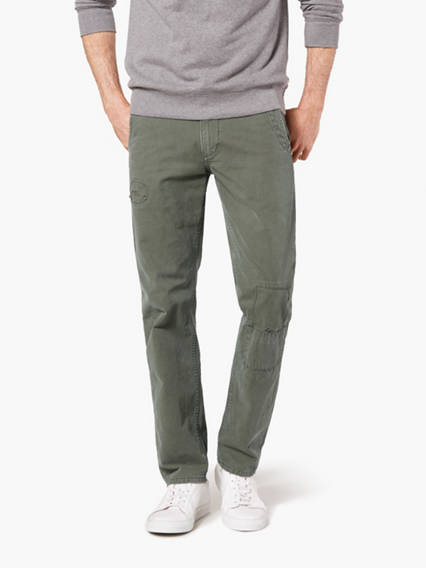 Dockers® Alpha Rip & Repair Khaki Pants