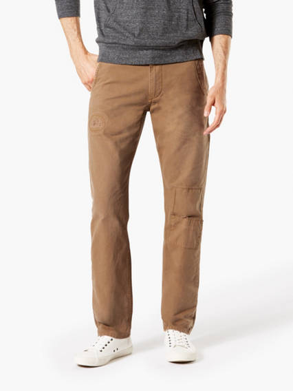 Dockers® Alpha Men's Rip & Repair Khaki Pants
