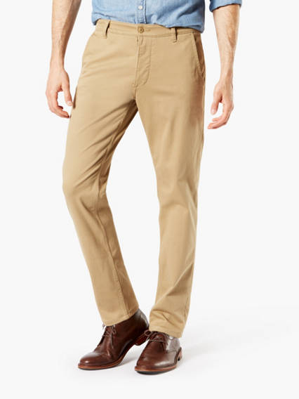 Supreme Flex Alpha Chino, Tapered Fit - Wonderknit