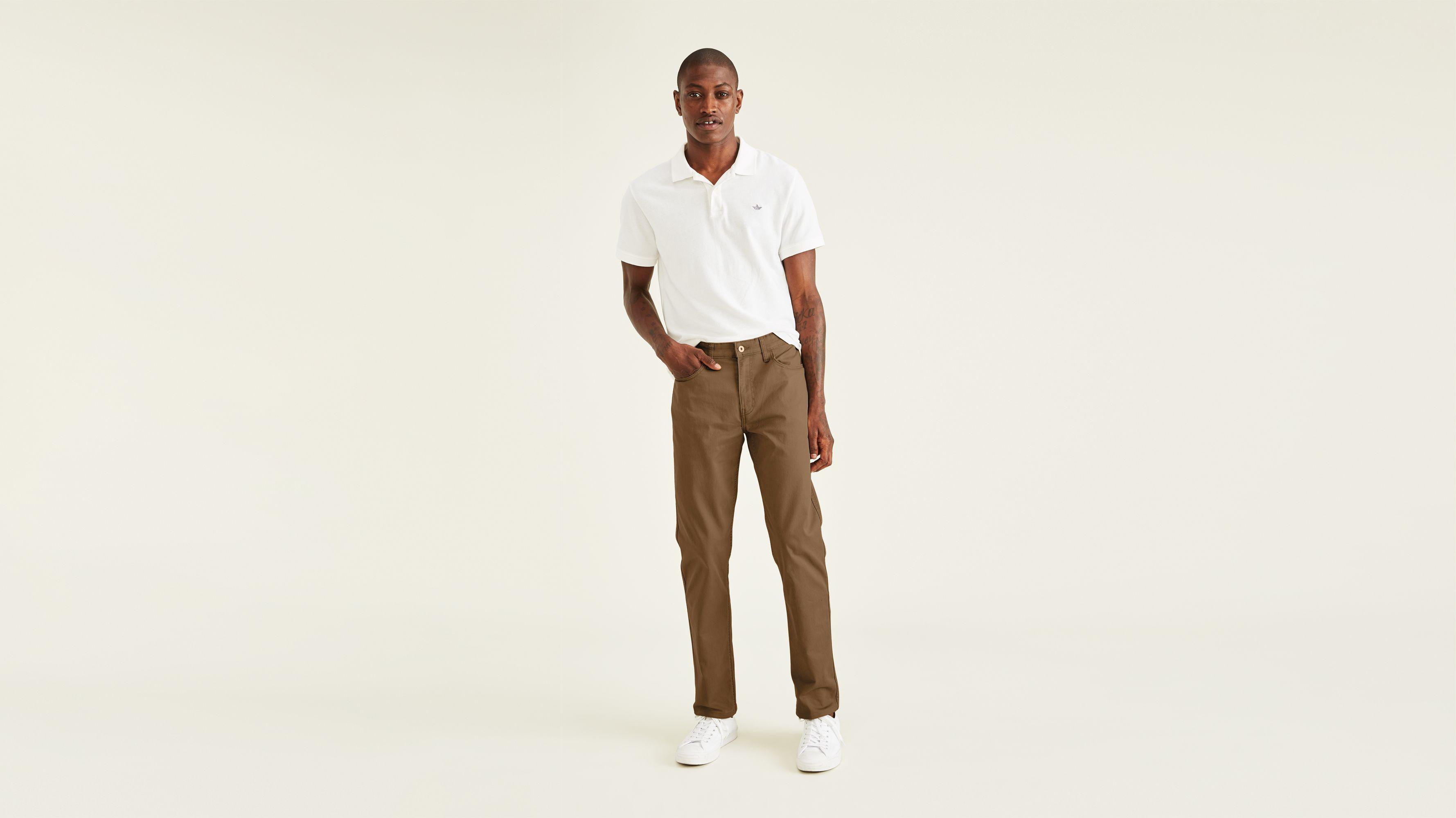 the latest 76ef5 0ffc3 Dockers Mens Straight Fit Jean Cut Denim Pants, Jeanshosen ...