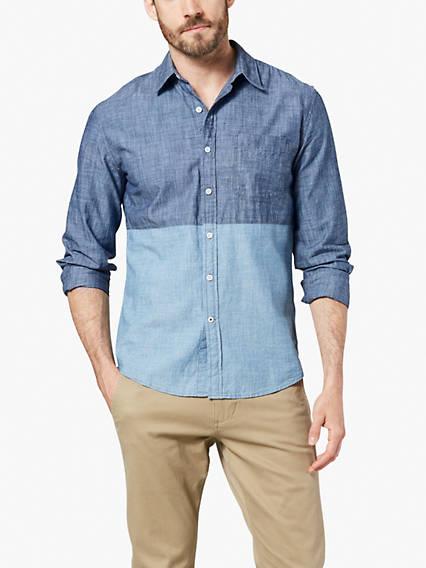 Dockers® Alpha Mixed Pattern Button-Up Shirt, Slim Fit