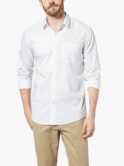 Men's Mix Pattern Shirt