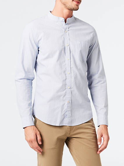 Stnd Band Collar Shirt