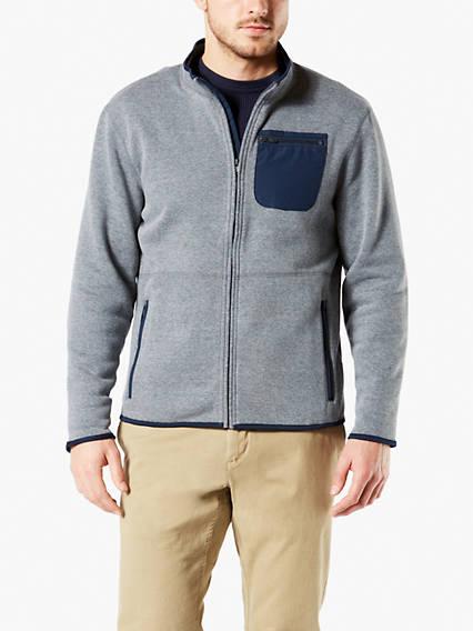 Full Zip Sweater Fleece Jacket