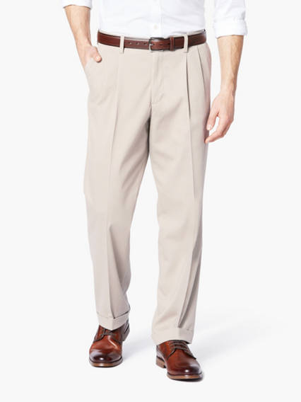 Easy Comfort Khaki Pants, Relaxed Fit