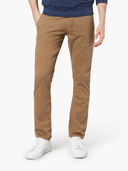 Alpha Chino, Skinny Fit - Moleskin