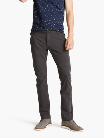 Men's Downtime Khaki Pants, Skinny Fit