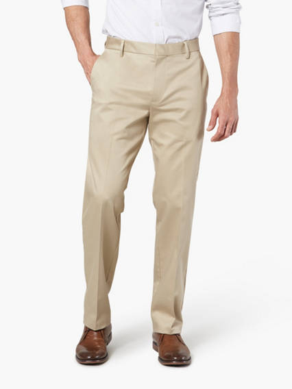 Dockers® Alpha Men's Iron Free Khaki Pants, Straight Fit