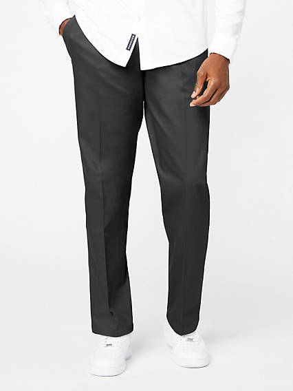 Signature Khaki, Pleat, Classic Fit