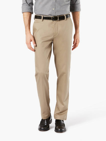 Big & Tall Signature Khaki Pants, Modern Tapered Fit