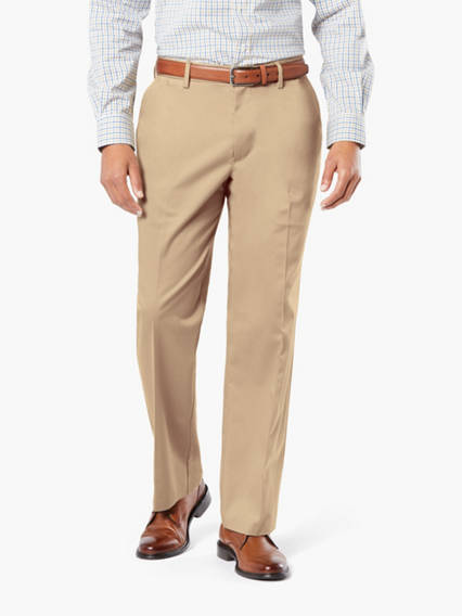 Dockers? Alpha Men's Iron Free Khaki Pants, Classic Fit