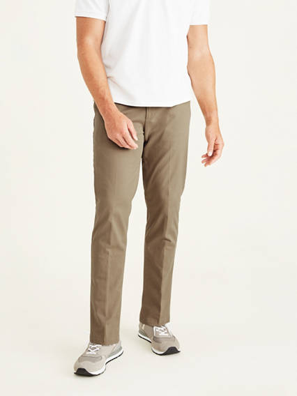 Men's Big & Tall Workday Khaki Pants, Tapered Fit