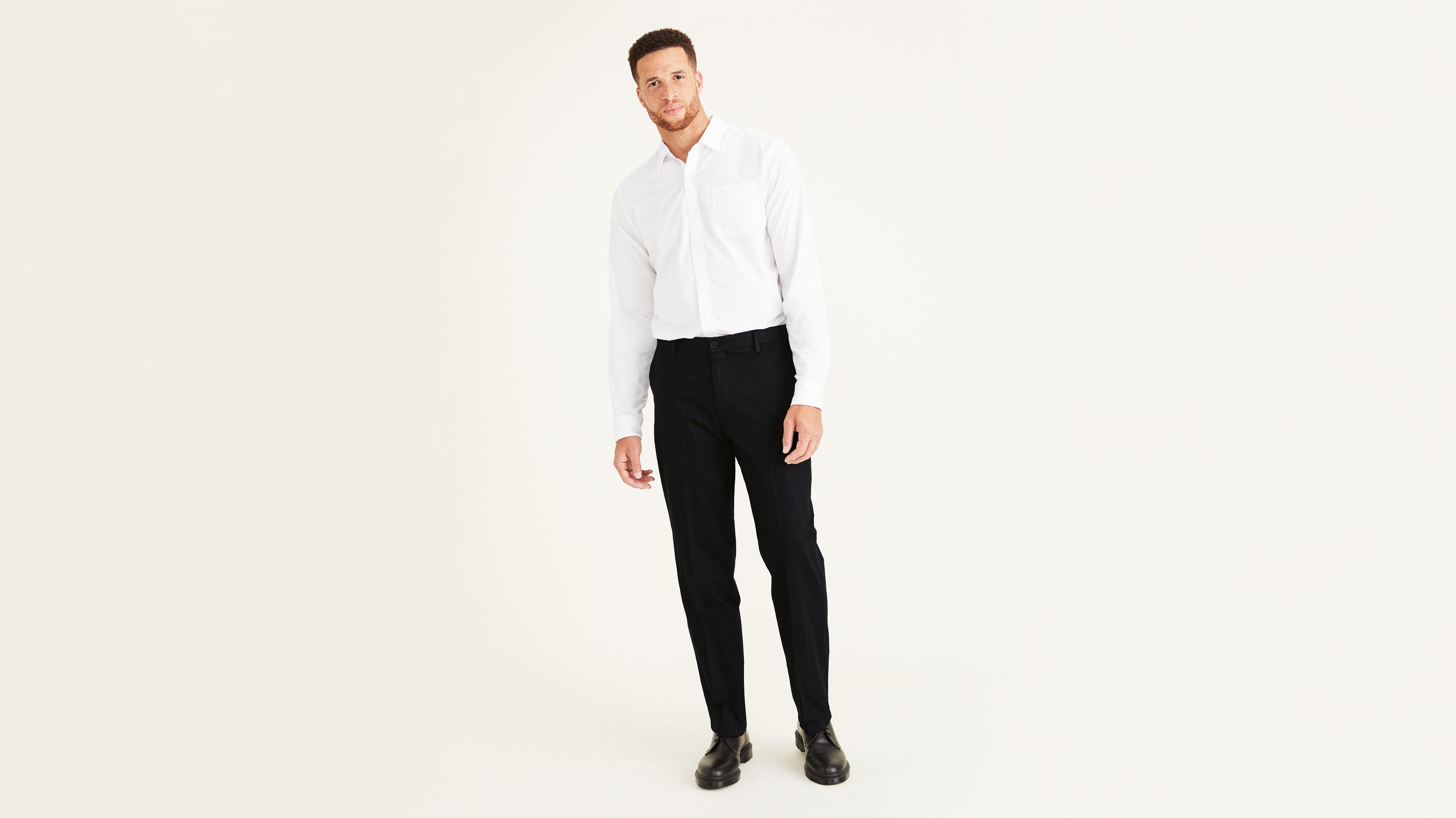 Dockers Mens Big and Tall Big /& Tall Classic Fit Signature Khaki Lux Cotton Stretch Pants