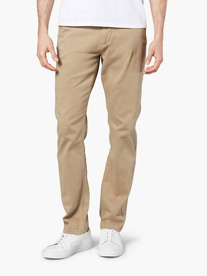 Washed Khaki Tapered