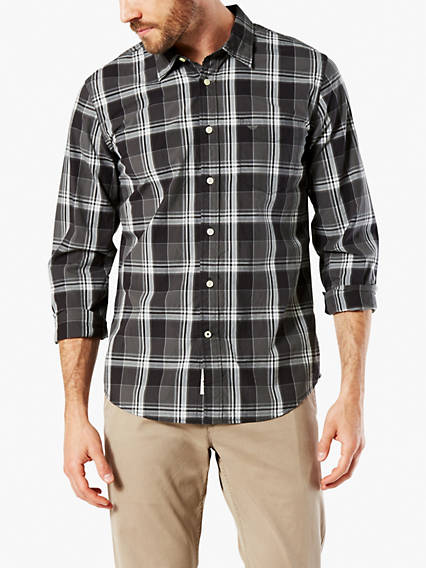 Laundered Shirt, Slim Fit