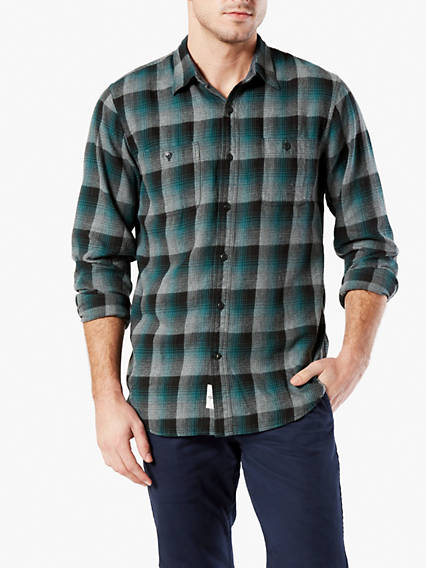 Flannel Shirt, Standard Fit