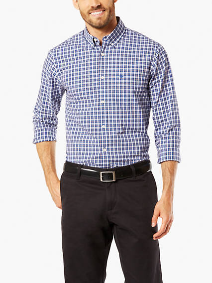 Essential Poplin Shirt, Standard Fit