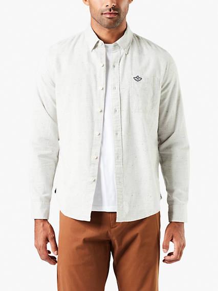 Laundered Poplin Shirt
