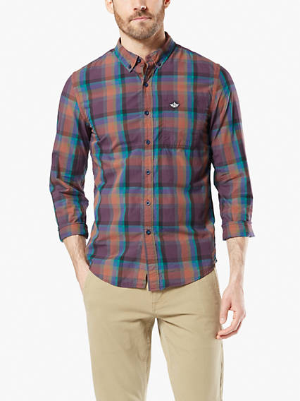 Icon Button-Up Shirt, Slim Fit