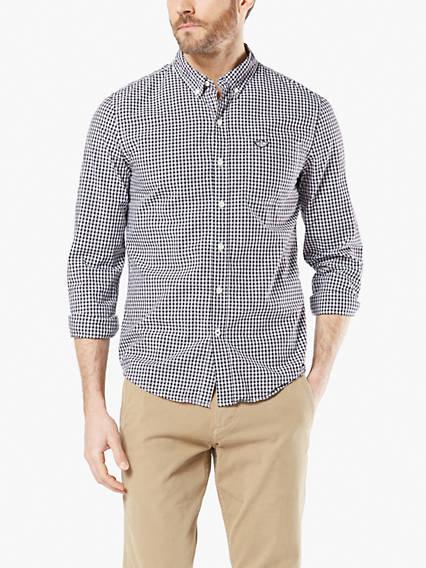 Men's Icon Button-Up Shirt, Slim Fit