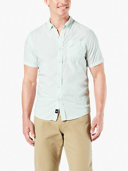 Icon Button-Up Shirt, Short Sleeve