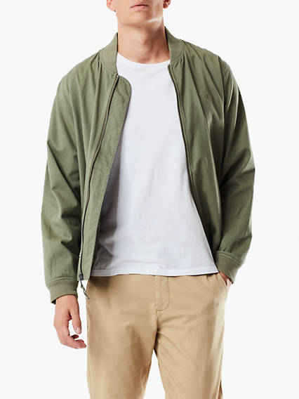 Washed Twill Bomber
