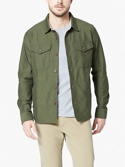 Dockers® Alpha Men's Supreme Flex™ Shirt Jacket
