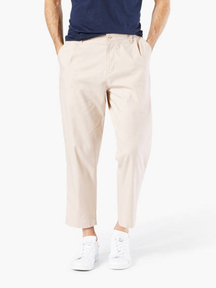 Cropped Chino, Tapered Fit