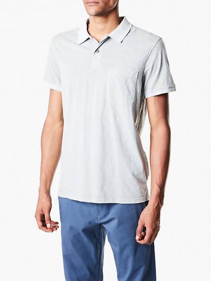 Pocket Polo - Garment Dye