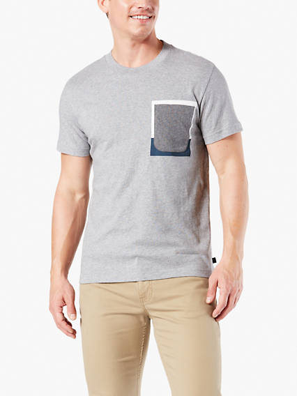 Men's Flag Pocket Tee