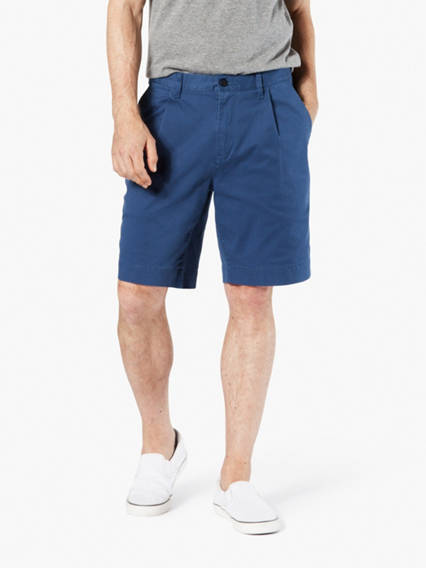 Dockers® Alpha Khaki Seaworn Pleated Shorts, Relaxed Fit