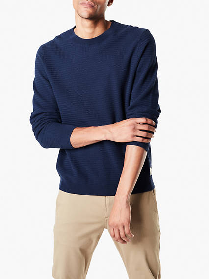 Textured Sweater - Cotton