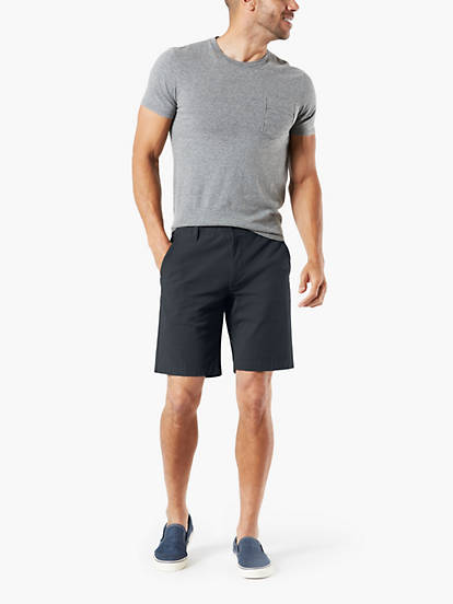 66df4a836998 Smart 360 Flex™ Shorts, Straight Fit - Black 729900012 | Dockers® US