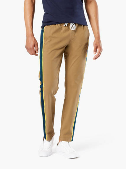 Dockers® Alpha Side Striped Joggers With Smart 360 Flex™, Slim Fit