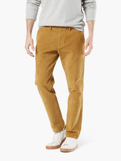 Dockers® Alpha Men's Corduroy Chino Pants, Slim Fit