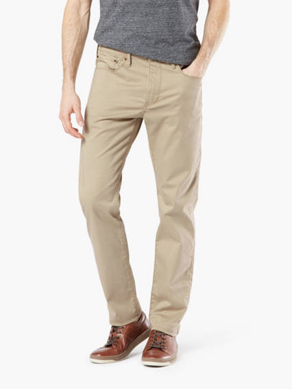 Dockers? Alpha Men's Jean Cut Pants, Slim Fit