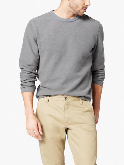 Men's Reverse Terry Crewneck Sweater