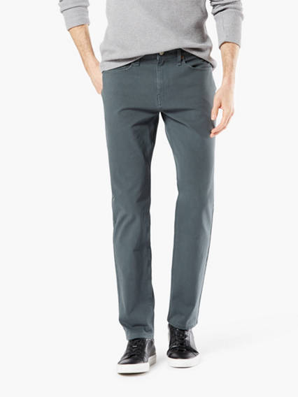 Jean Cut Pants With Smart 360 Flex™, Slim Fit