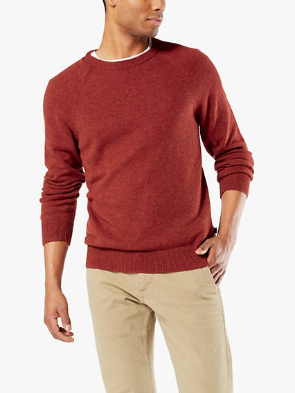 Whistle Patch Crewneck Sweater