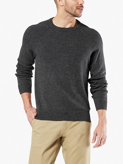 Men's Whistle Patch Crewneck Sweater