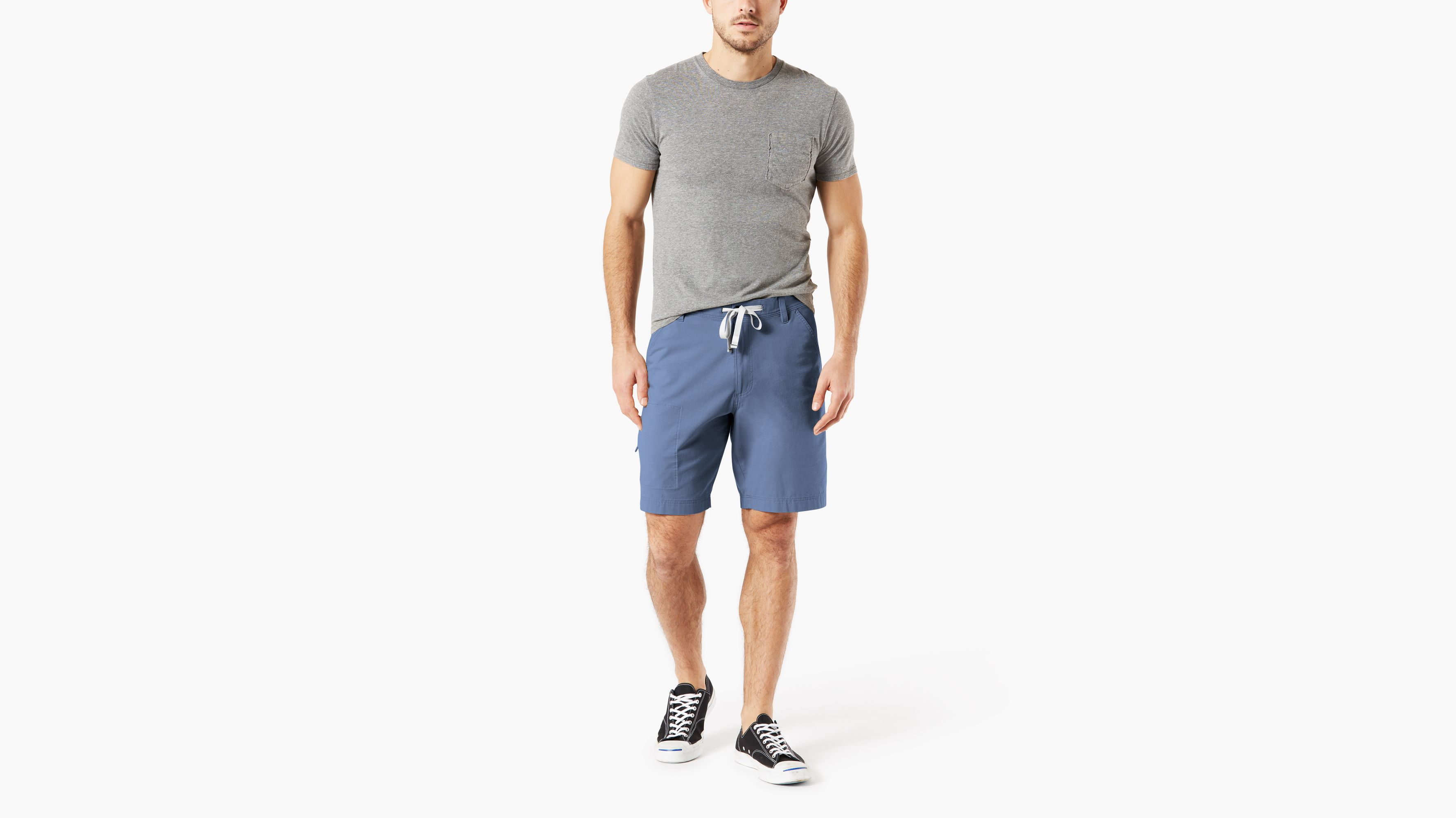 2c2977131443 Utility Shorts With Smart 360 Flex™ Shorts, Straight Fit - Blue 798770006 |  Dockers® US
