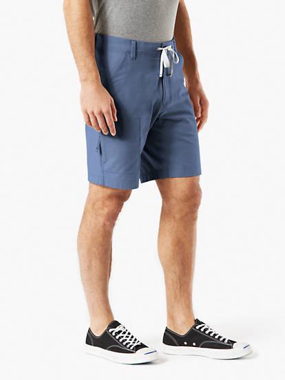 1f16d870d3e6 Utility Shorts With Smart 360 Flex™ Shorts, Straight Fit - Blue ...