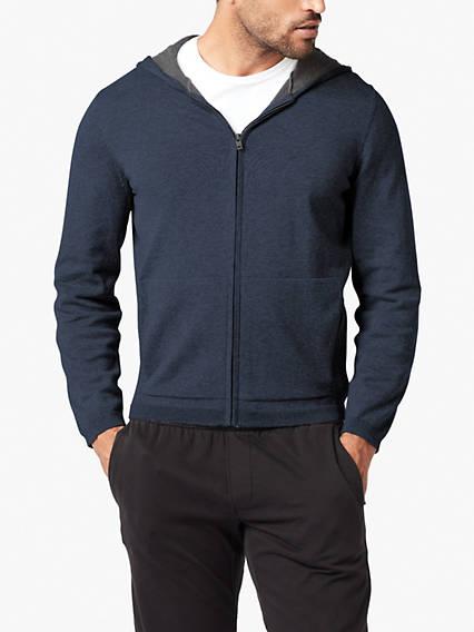 Plaited Full Zip Sweater