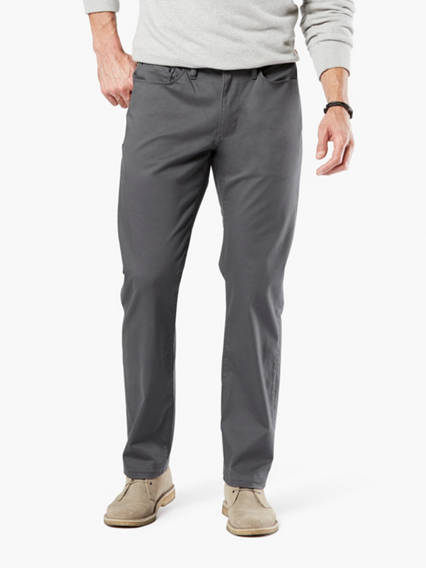 Dockers? Alpha Men's Jean Cut Pants, Straight Fit