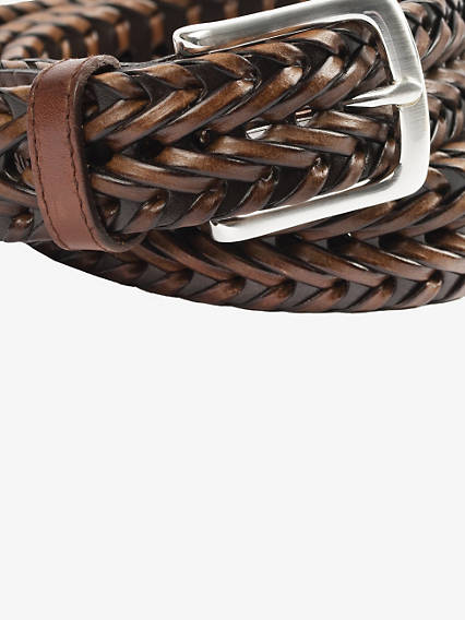 Big & Tall Braided Belt