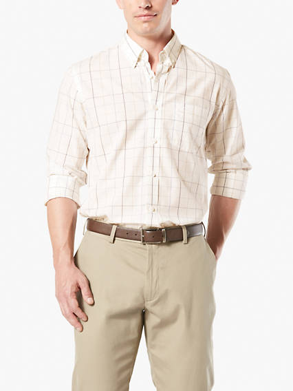 Big & Tall No Wrinkle Button-Up Shirt