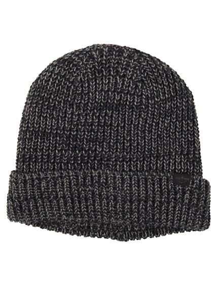 Marled Cap With Sherpa Lining