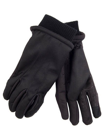 Menswear Mix Media Glove