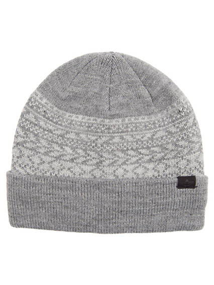 Men's Fairisle Cuff Beanie