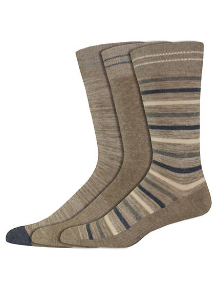 Striped Crew Socks